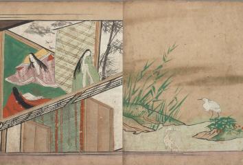 言葉と絵が織りなす物語世界―新収の絵巻と絵本